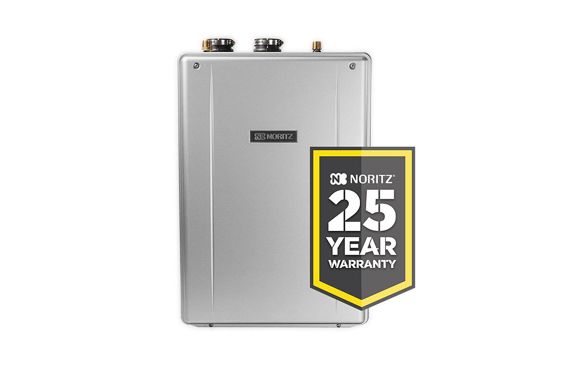 edmonton tankless hot water tank offer 25 year warranty noritz ez11