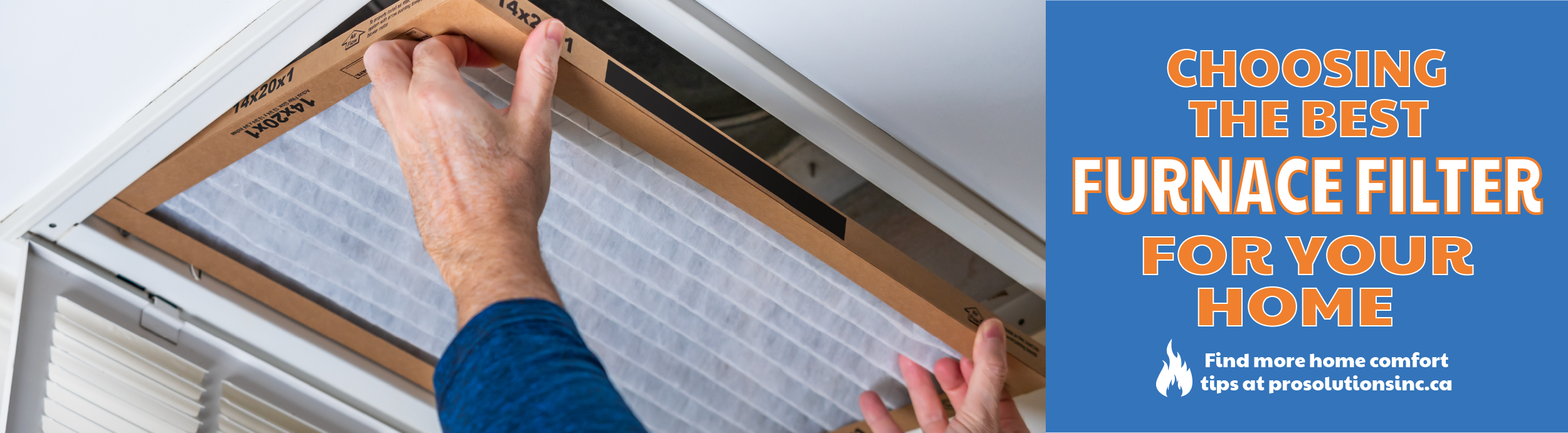 What type of furnace filter to choose