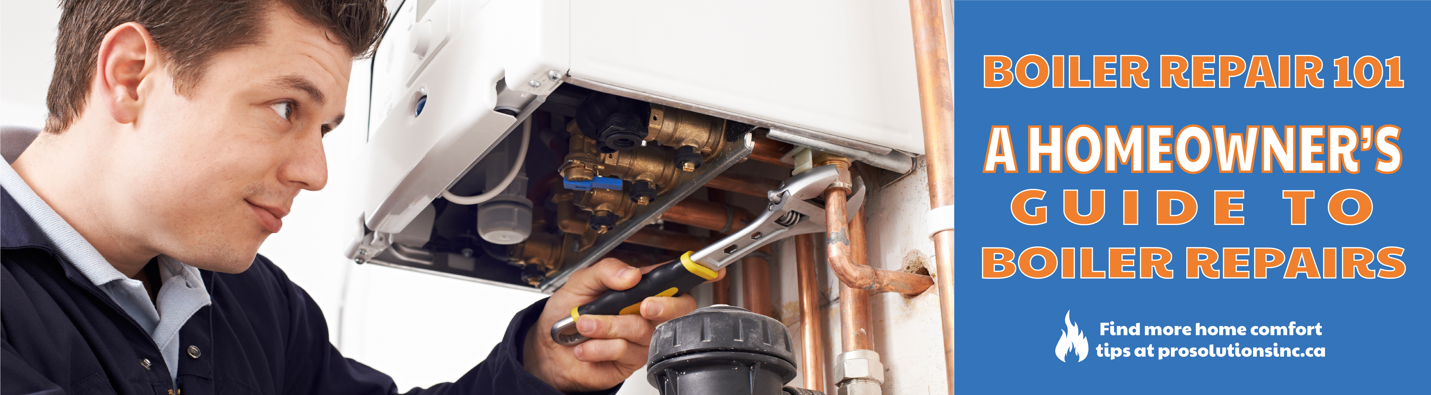 Boiler repair at home
