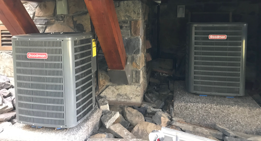 New AC installed at Edmonton home by ProSolutions PHAC